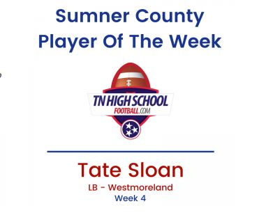 SC Player of the Week